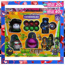 90165 đồ chơi nhân vật plants vs zombies - đại chiến trái cây, hoa quả nổi  giận online - Sắp xếp theo liên quan sản phẩm