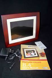 smartparts 8 4 digital picture frame spx8e manual power cord remote battery 692566610795