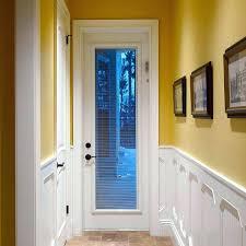 exterior door with blinds narrow exterior door with blinds between glass fiberglass exterior door with internal
