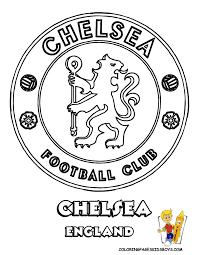 Small Picture 08 Chelsea Football Soccer Futbol at coloring pages book for kids