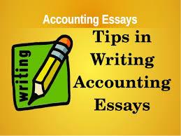 essay accounting essay