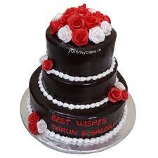 Designer 3 Layers Anniversary Cake Best Design Yummycake