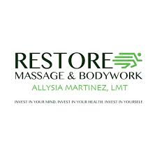 Restore Massage and Bodywork Allysia Martinez, LMT - About | Facebook