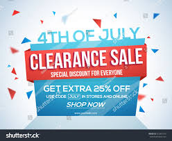 paper flyer 4th july sale tag clearance sale stock vector 412847155 shutterstock