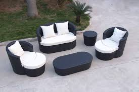 image black wicker outdoor furniture. Black Wicker Outdoor Furniture~Black All Weather Furniture - YouTube Image A