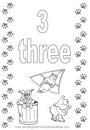Small Picture Number 3 Coloring Page Get Coloring Pages