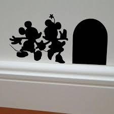 minnie house vinyl diy wall sticker