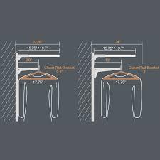 inspiring modern ideas closet rod installation fresh design impressive pole how to install closet rod picture