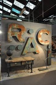 image result for giant metal letters on metal lettering wall art with image result for giant metal letters tom sign options pinterest
