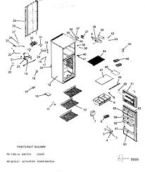 Haier refrigerator parts diagram haier model hde10wnaww top mount refrigerator genuine parts of haier refrigerator parts