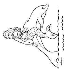 Coloring Pages Dolphins Gifs Pnggif