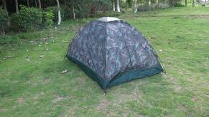 <b>2 Person</b> Layer <b>Outdoor</b> Portable Camouflage Camping Tent ...