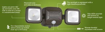 Outdoor Led Motion Lights Extraordinary Outdoor Led Motion Lights Outdoor Security Lights With Motion Sensor