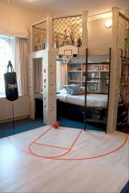 Cute Boys Basketball Bedroom