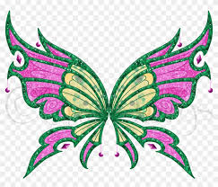 All the six winx fairies receive this power once they have accomplished a mysterious and difficult mission! Pytha Enchantix Wings By Charmedwings Pytha Enchantix Winx Club Fan Made Wings Free Transparent Png Clipart Images Download