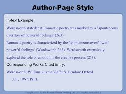 in text citation mla format generator