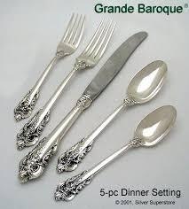 grande baroque by wallace silversmiths