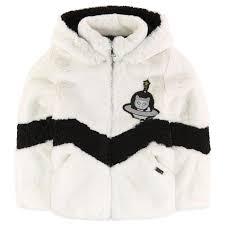 karl lagerfeld kids faux fur coat 239074