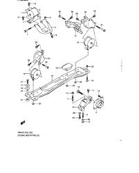 engine mounting for suzuki sx4 rw420 0 megazip online shop engine mounting