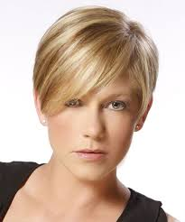 short hairstyles for oval face for fine hair