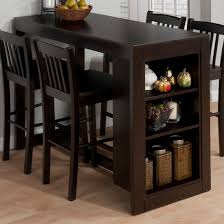 Kitchen Counter Height Tables 9pc Dinette Kitchen Counter Height Table With 8 Chairs In Espresso