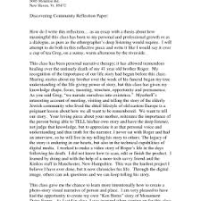 reflective essay writing examples example of reflective essay example reflection chit how to write a