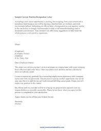 What To Avoid Writing Resignation Letter Best Resumes