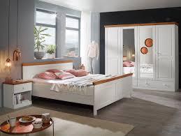 Dover Schlafzimmer Material Massivholz Kiefer Weisshonig
