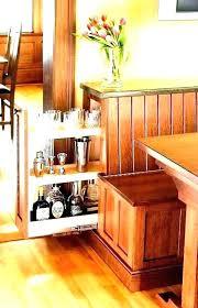 diy breakfast nook bench kitchen with storage table