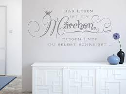 Wandtattoo Das Leben Ist Ein Märchen Prinzessin Kinderzimmer