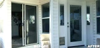 replacing sliding door how