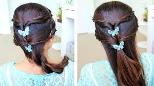 Fancy Hair Design Fancy Rope Braid Half Updo Hairstyle For Medium Long Hair