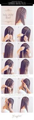 3 Cute Easy Braided Hairdos For Summer Destination Femme Hair