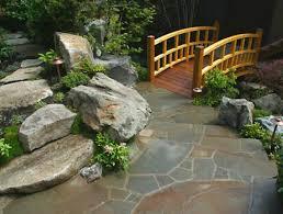Small Japanese Garden Designs Idea For Having Rocks Around The Japanese Backyard Garden