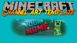 youtube channel art minecraft. Delighful Channel Inside Youtube Channel Art Minecraft A