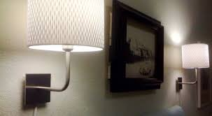 Full Size of Lighting:n Q Amazing Corded Wall Light Leclair 1 Light Dark  Bronze ...