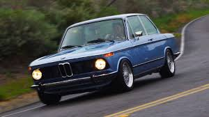 BMW Convertible bmw retro car : Driving A Perfectly Restored BMW 2002 Is Like Living In A Dream