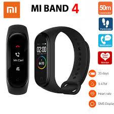 <b>Original Xiaomi Mi</b>-Band <b>Smart</b> Bracelet Heart-Rate Fitness-Tracker ...