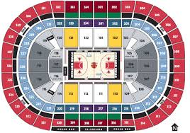 Breakdown Of The United Center Seating Chart Chicago