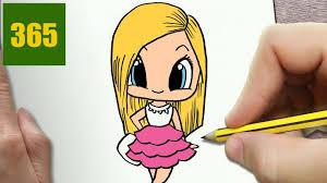 Comment Dessiner Barbie Kawaii Tape Par Tape Dessins Kawaii Tuto Dessin Fille KawaiiL
