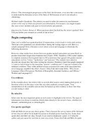 Write Online  Literature Review Writing Guide   Planning and