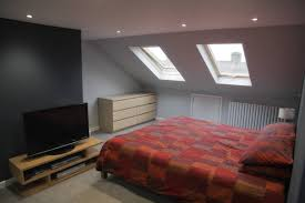 Loft Conversion Bedroom Design Velux Loft Conversion In Tottenham London