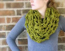Crochet Scarf Patterns Bulky Yarn Magnificent Bulky Yarn Crochet Scarf Pattern Diy Pattern The Oslo Cowl Crochet