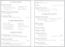 Wedding Booklet Template Catholic Wedding Ceremony Program Template Without Mass