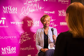 gail boyden consumer promotion lead at astrazeneca sits for an interview at judging day for the mm m awards june 25 2018 in new york city