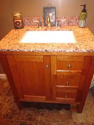 Building Bathroom Vanity Diy Open Shelf Bathroom Vanity Plans Click Here Barn Door Cabinet