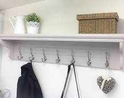 Coloured Ball Coat Rack Spalted Poplar Coat Rack ShelfWooden Shelf with Cast Iron 61