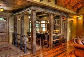 Rustic Barn Basement