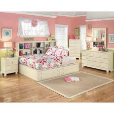 Bookcase Bedroom Furniture Retreat Full Bookcase Bed 5 Pc Bedroom Package
