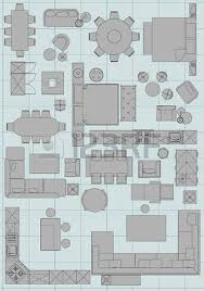 Furniture Icons For Floor Plans  Standard Office Furniture Furniture Icons For Floor Plans